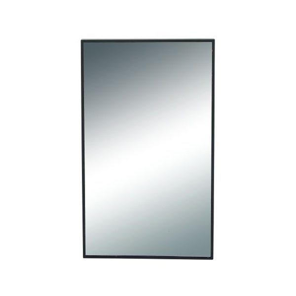 Benzara Wooden Rectangular Wall Mirror