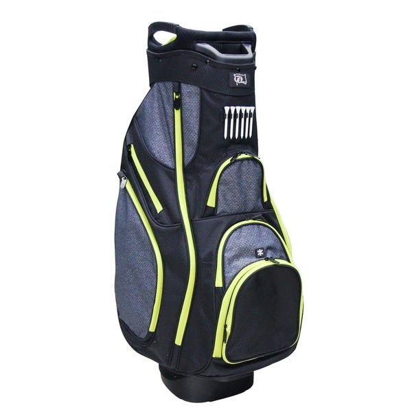 RJ Sports OX820 Black Nylon Men's Cart Bag