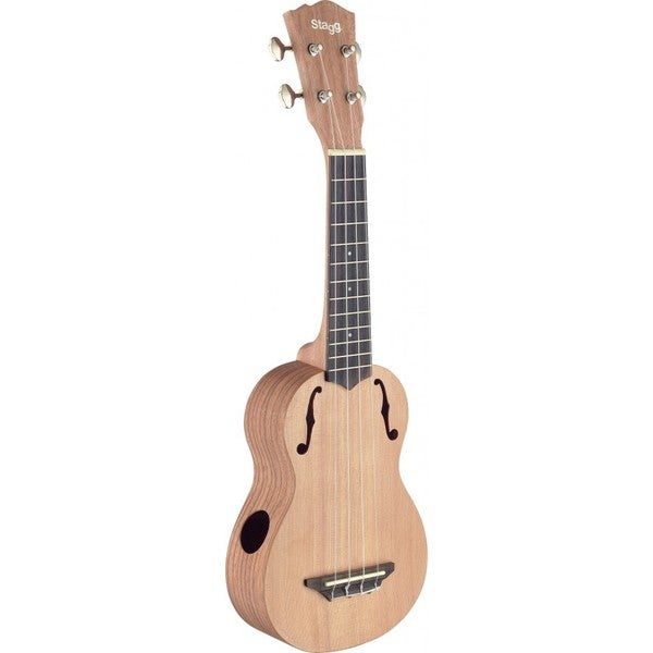 Stagg Traditional Soprano Red Rosewood Ukulele