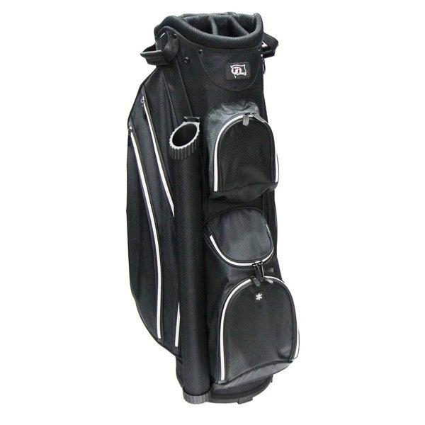 RJ SPORTS DS-590 Black and Grey Nylon Lightweight 9-inch Cart Bag