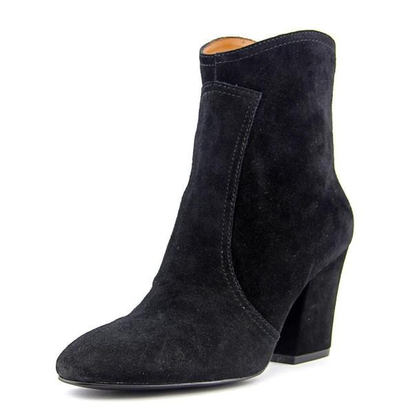 Nine West Women's Dashiell Black Suede Ankle Boots