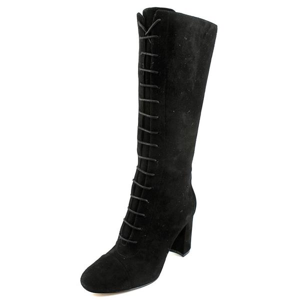 Nine West Women's Waterfall Black Suede Boots