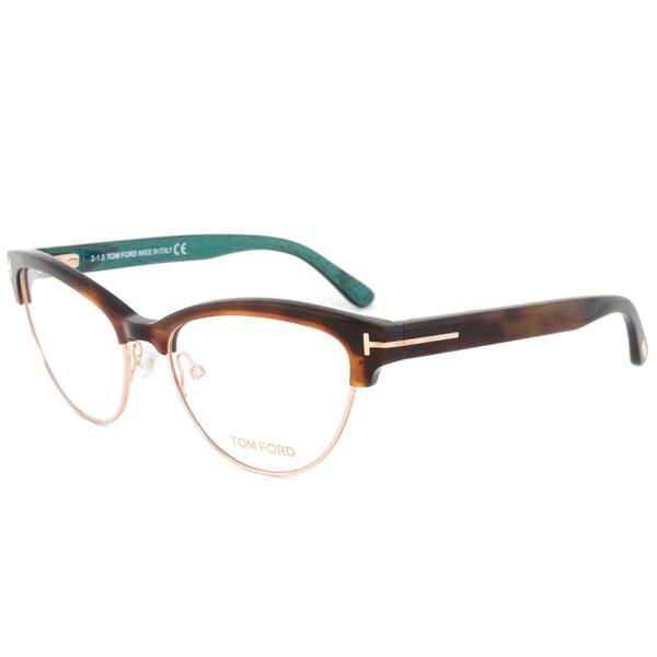 Tom Ford 54mm Brown/Gold/Beige Frame Eyeglasses Frames