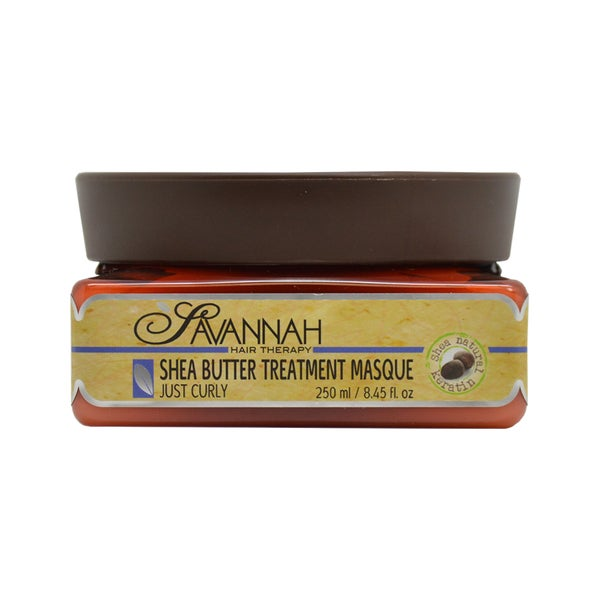 Savannah Shea Butter 8.5-ounce Treatment Masque for Curly Hair
