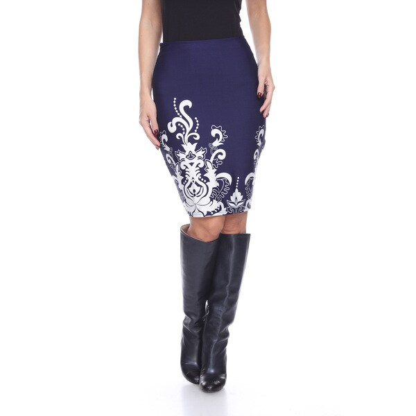 Women's Knee-length Pencil Skirt