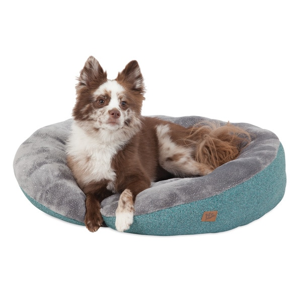 MuttNation Fueled by Miranda Lambert Plush Printed Lounger Dog Bed