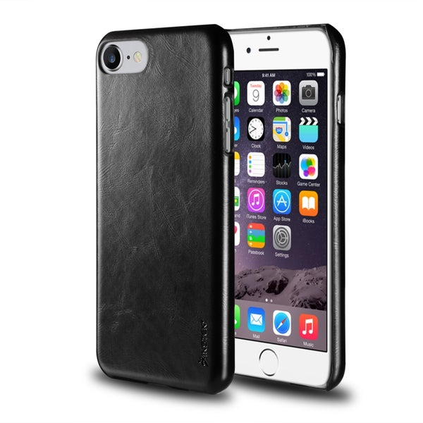 Insten Leather Textured Back Case Cover For Apple iPhone 7