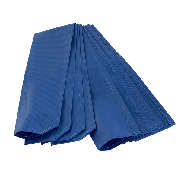 Upper Bounce Blue Trampoline Pole Sleeve Protector (Pack of 4)