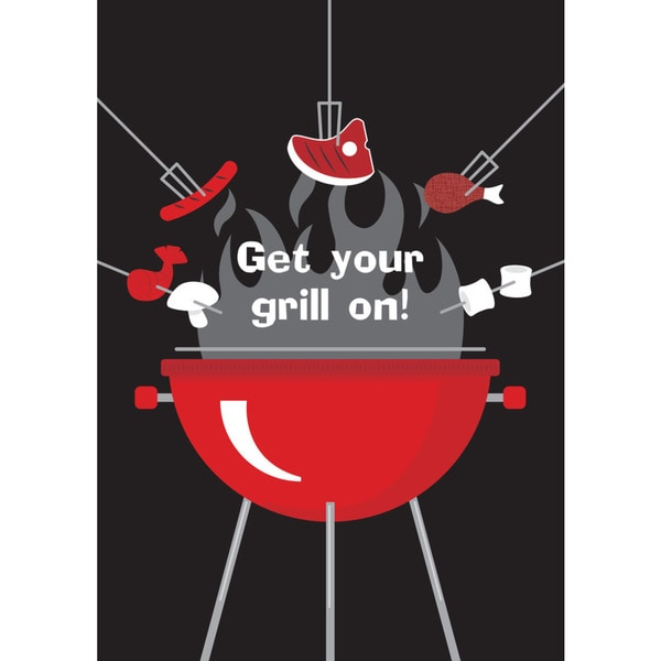 'Get Your Grill On' Flag