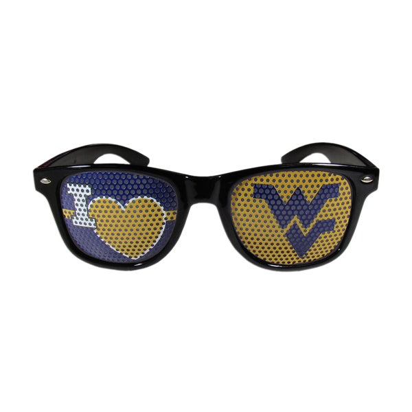 NCAA West Virginia Mountaineers I Heart Game Day Black Shades 21625573