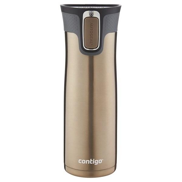 Contigo West Loop AUTOSEAL 20 oz Latte Stainless Steel Travel Mug