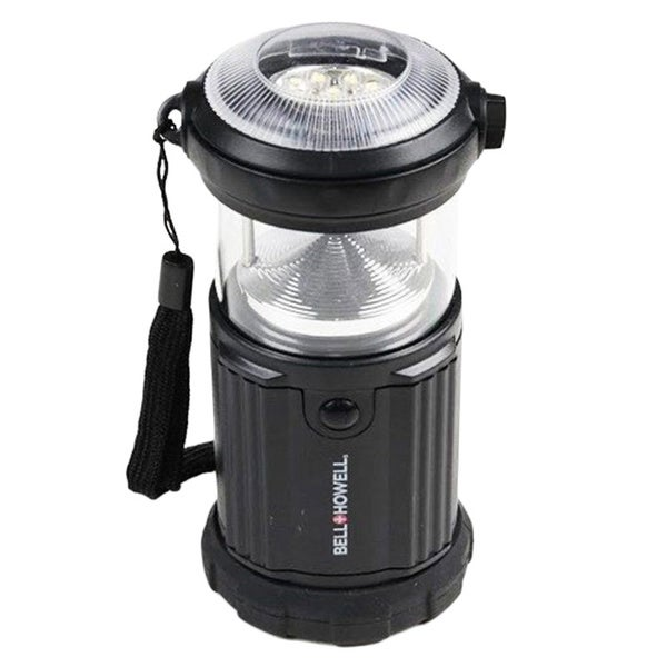 Bell + Howell 9 LED Black Indoor And Outdoor Flash Lantern