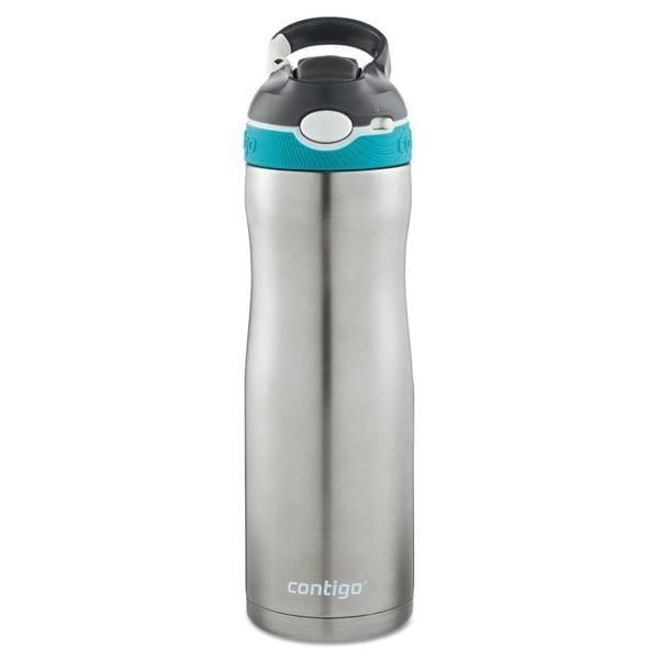 Contigo AUTOSPOUT Ashland Chill 20 oz Scuba Stainless Steel Water Bottle