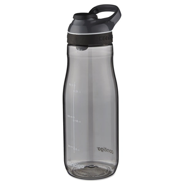 Contigo Cortland AUTOSEAL 32 oz Smoke Plastic Water Bottle