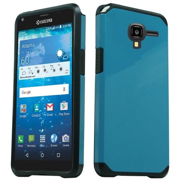 Kyocera Hydro View Black TUP/PC Slim Smartphone Case