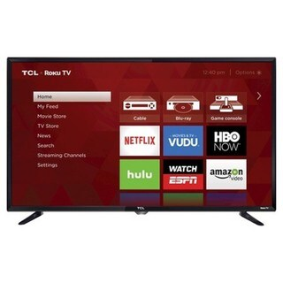 TCL Refurbished 32-inch 720p 60Hz Roku Smart LED TV