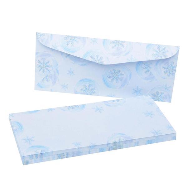 Blue Snowflakes #10 Envelopes (Case of 40)