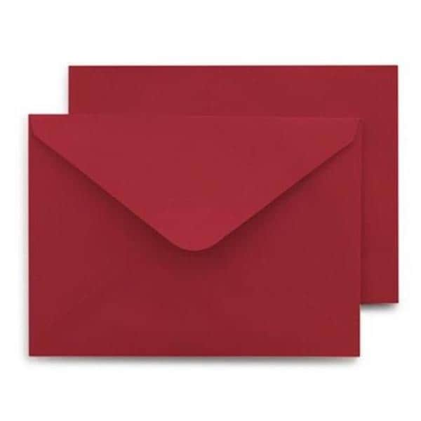 Red A9 40-count Envelopes