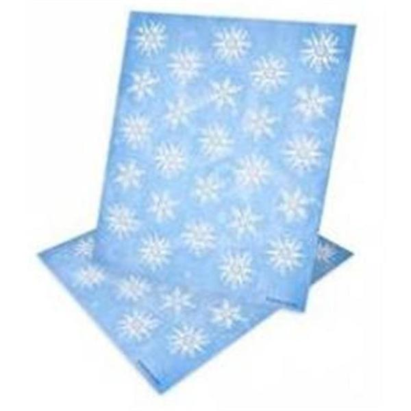 Glitter Snowflake Envelope Seals (Pack of 40)