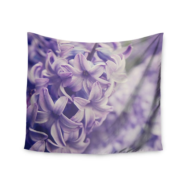 Kess InHouse Angie Turner 'Lavender Dreams' Purple Lilac Wall Tapestry