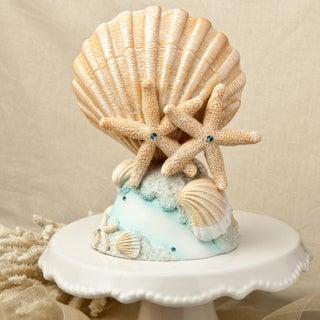 Beach Themed Porcelain Center Piece/Cake Topper