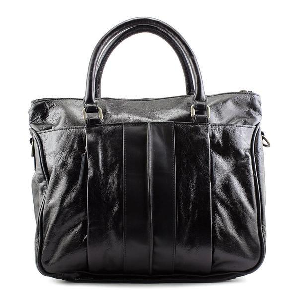Liebeskind Women's 'Paula B' Black Leather Handbag