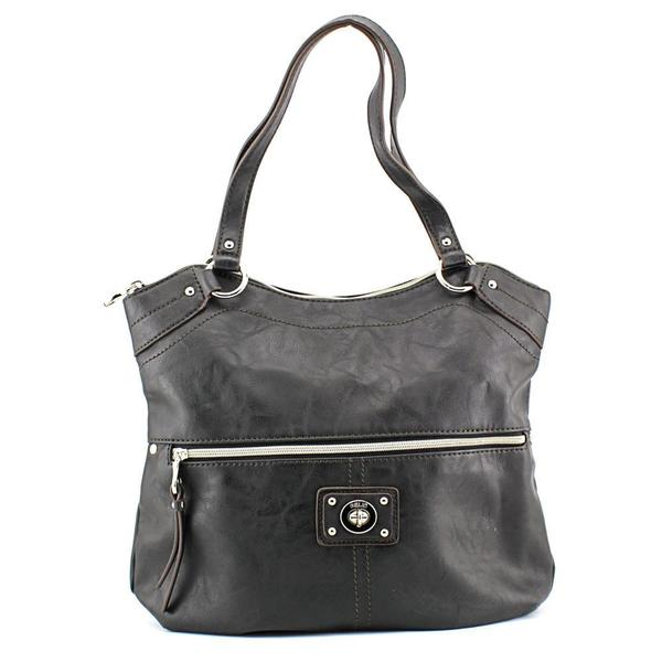 Relic Women's RLH2432 Black Faux Leather Handbag