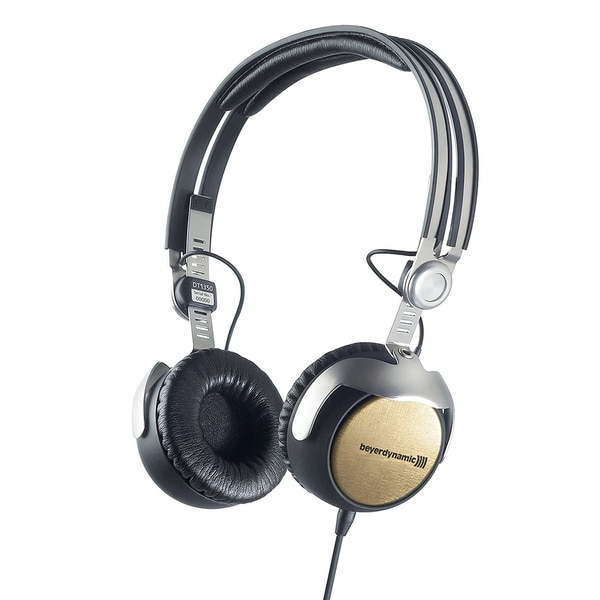 Beyer Dynamic DT1350 Limited Gold Edition Closed Supraaural Headphones