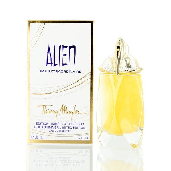 Thierry Mugler Alien Eau Extraordinaire Golden Shimmer 2-ounce Eau de Toilette Spray