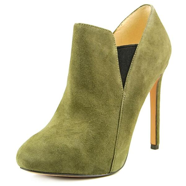 Nine West Women's 'Nut Cracker' Regular Green Suede Boots