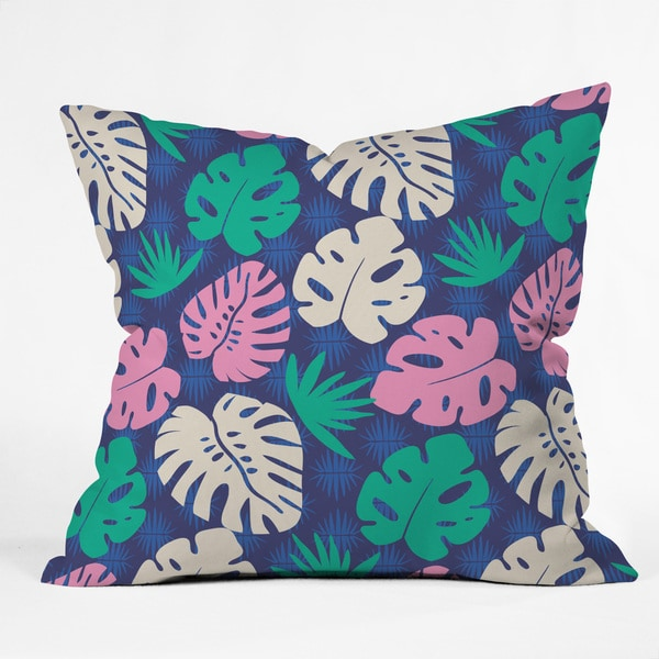 Zoe Wodarz Tropical Nights Throw Pillow