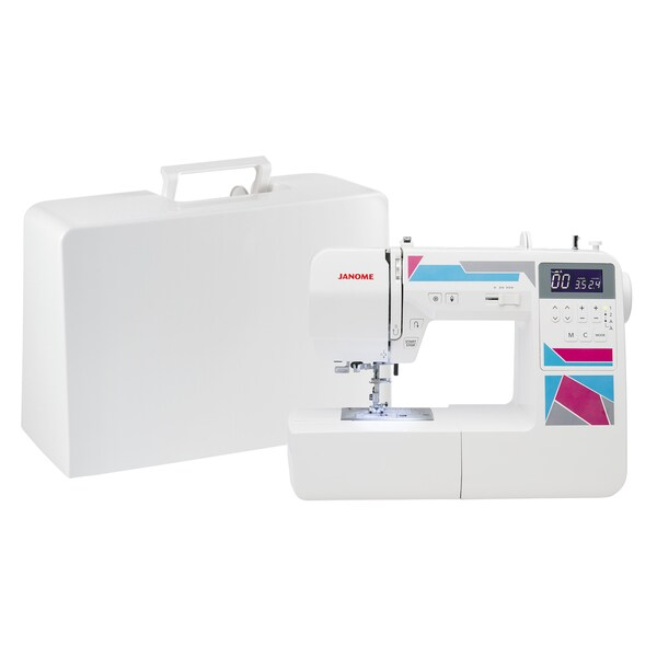 janome 100 stitch computerized sewing and quilting machine