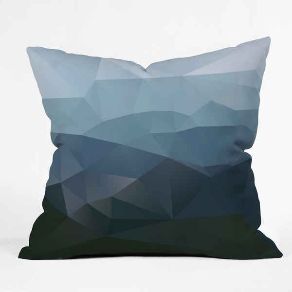 Three of the Possessed First Light Multicolor Polyester Throw Pillow