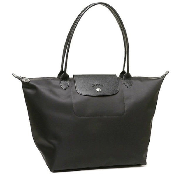 Longchamp Le Pliage Neo Black Nylon Tote Bag