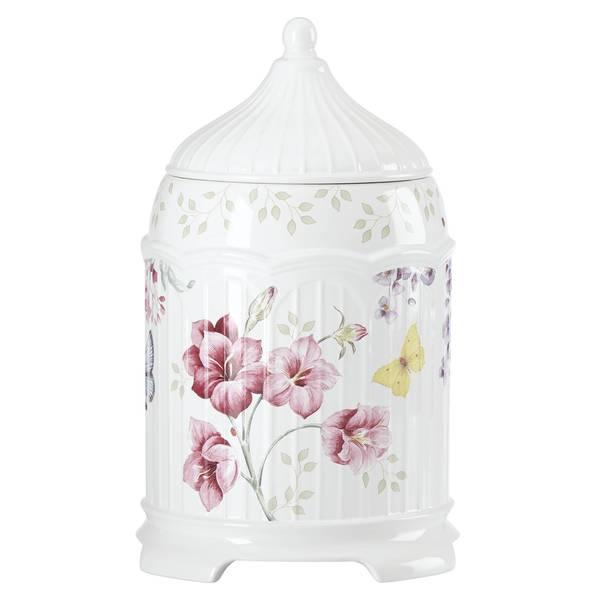 Lenox Butterfly Meadow Limited Edition Lavender Gazebo Cookie Jar
