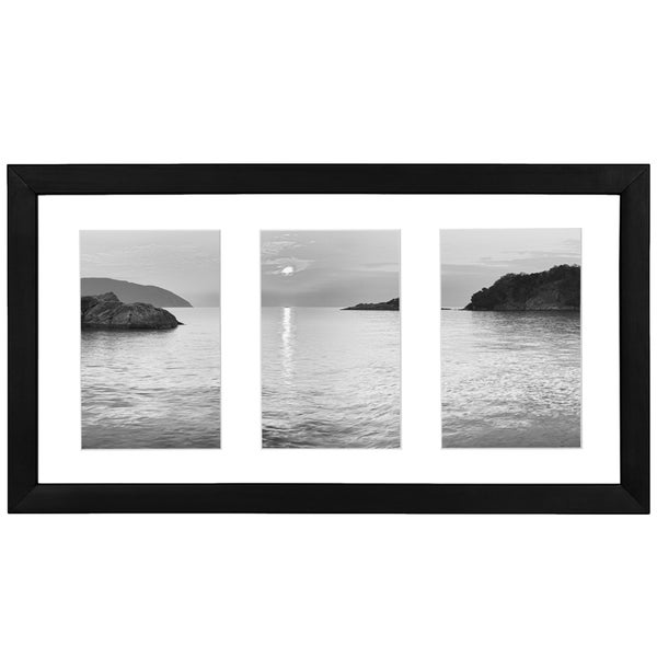 Black 4-inch x 6-inch Collage Picture Frame