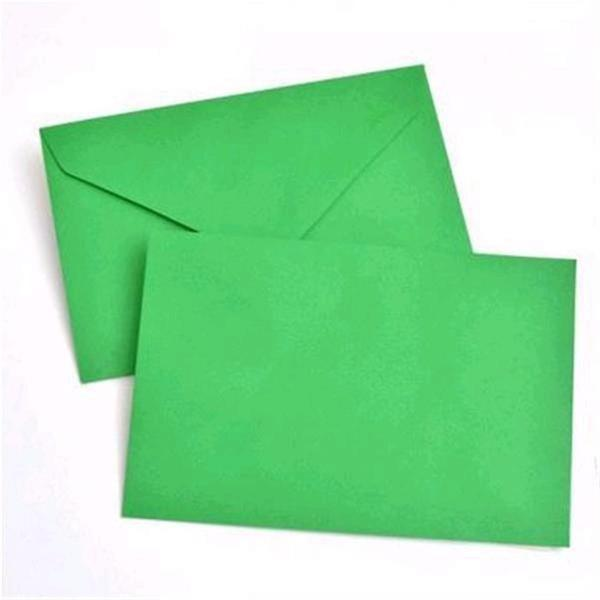 Green A9 Envelopes (Pack of 40)