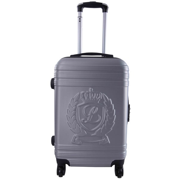 Lollipops Silvertone ABS 28-inch Expandable Hardside Spinner Suitcase