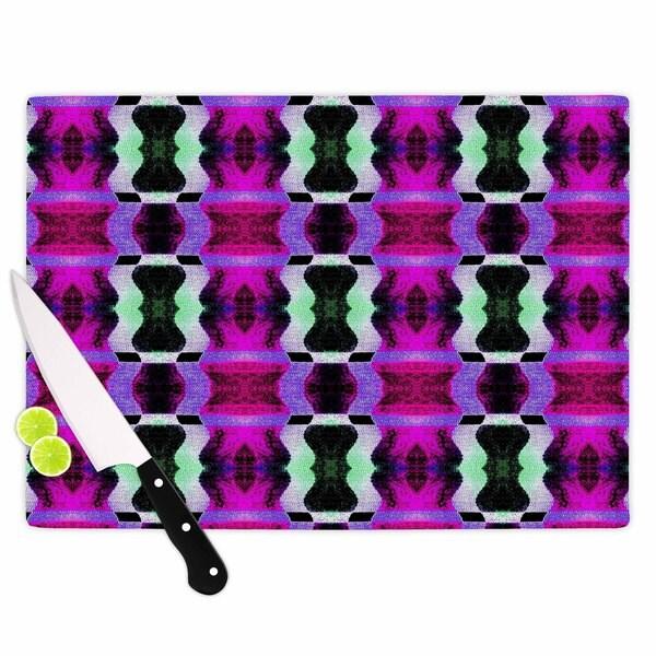 "Kess InHouse Anne LaBrie ""High Vibrations"" Magenta Purple Cutting Board 21720593"