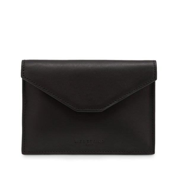 Liebeskind Ruth Black Leather Mini Envelope Wallet