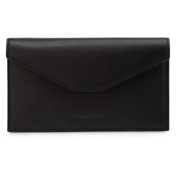 Liebeskind Rusty Crust Sky Blue/Black/Grey/Pink Leather Envelope Wallet