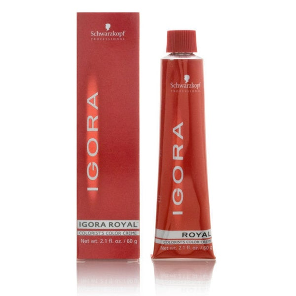 Schwarzkopf Igora Royal 2-ounce Color Creme 6-00 Dark Blonde Forte