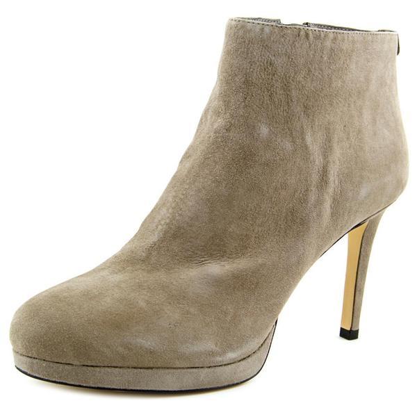 Michael Michael Kors Women's 'Sammy Platform Ankle Bootie' Regular Suede Boots