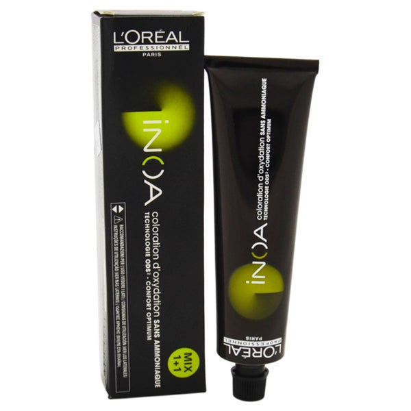 L'Oreal Professional Inoa # 6.45 Dark Copper Mahogany Blonde 2-ounce Hair Color