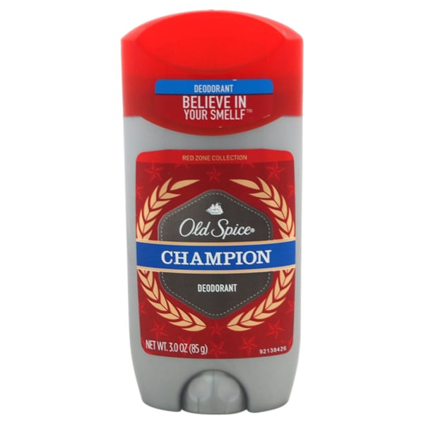 Old Spice Champion Red Zone 3-ounce Deodorant Stick