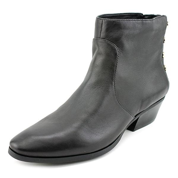Vince Camuto Women's Cinza Black Leather Boots