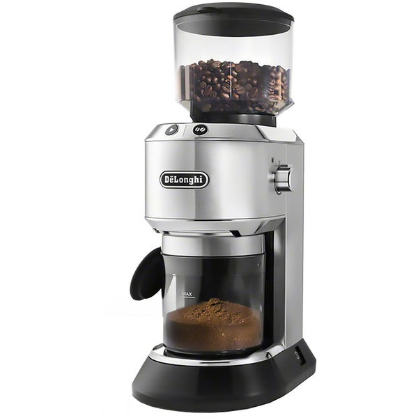 DeLonghi KG521M Dedica Conical Burr Grinder with 14-Cup Grinding Capability