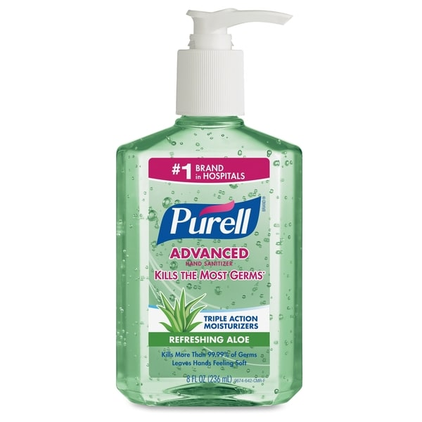 GOJO Purell Aloe Advanced Hand Sanitizer