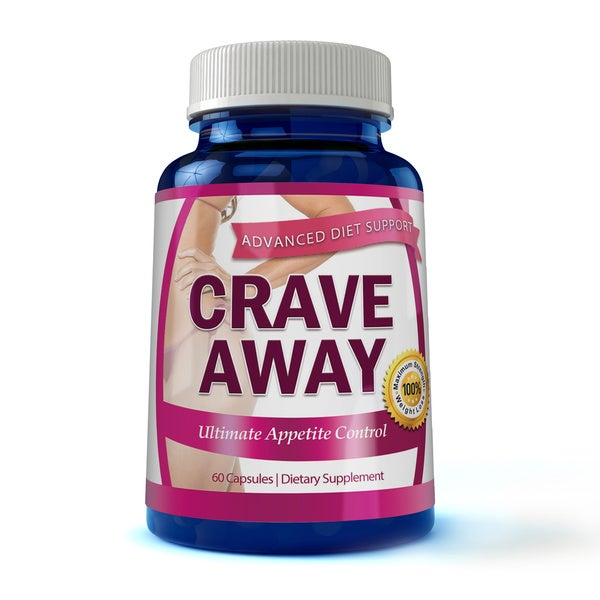 Crave Away Weight Control Extreme Dietary Supplement (30, 60, or 90-day Supply)