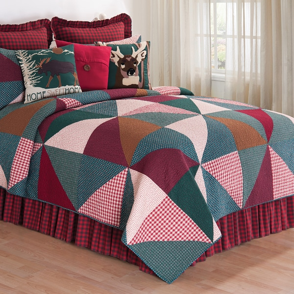 Shady Pines Cotton Quilt